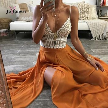 2016 Fashion Women backless tops Sexy Hollow out lace little crop Tops deep v-neck banage bra tops