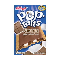 Kellogg's S'mores Pop-Tarts 3.6 oz Portions - Pack of 24