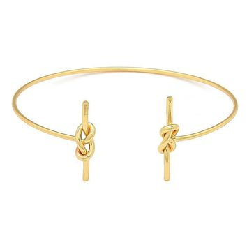 Double Knot Cuff Gold