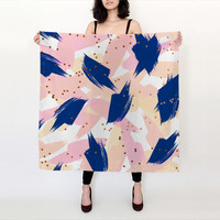 """Abstract Painting V3 big square scarf Big Square Scarf (36"""" x 36"""")"""