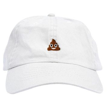 Poop Emoji Dad Hat