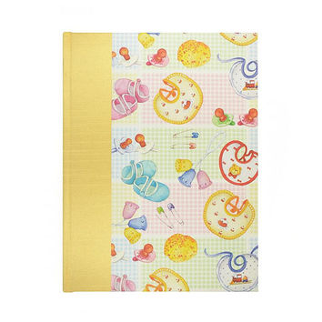 Baby Keepsake Memory Book Retro Baby