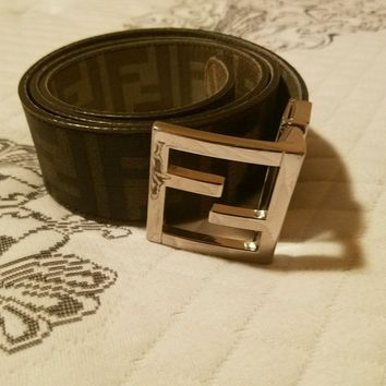 Mens Fendi Belt Reversible
