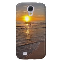 Case: Sunset by the Beach Samsung Galaxy S4 Cases