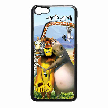 Madagascar Character 22b48a1b-59b9-4ed3-9520-c76c82062804 FOR iPhone 5C CASE *NP*