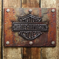 Harley ® Motorcycles Plate Tin Sign