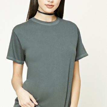 Contrast Thread Tee