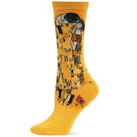 Hot Sox The Kiss Trouser Sock, Sunflower, One Size (fits womens shoe size 4-10.5 US)