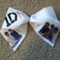 One direction cheer bow - FREE SHIPPING IN Us