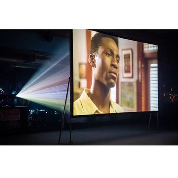 180-inch 16:9, Front/Rear 4K Ultra HD Ready Indoor / Outdoor Projector Screen