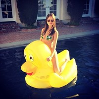 Giant Ducky Pool Float - $60