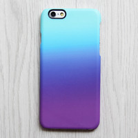 Violet Turquoise Pastel iPhone 6s Case | iPhone 6 plus Case | iPhone 5 Case | Galaxy Case 3D 085