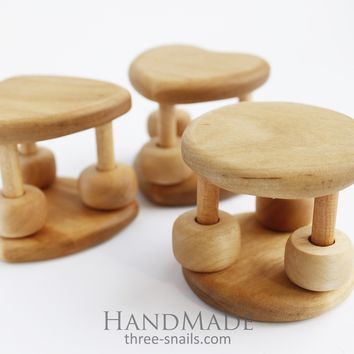 """Wooden baby toy""""Happy day"""""""