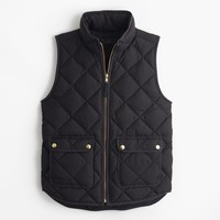Petite excursion quilted down vest : Women 50% off select final sale styles | J.Crew
