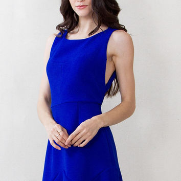 Sugar Lips Sleeveless You Can't Tame Me Fit and Flare Dress