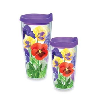 Tervis® Pansies Wrap Tumbler with Lid