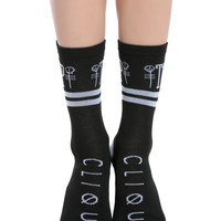 Twenty One Pilots Skeleton Clique Crew Socks