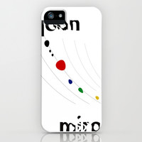 Joan Miro iPhone & iPod Case by Deadly Designer