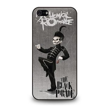 my chemical romance black parade iphone 5 5s se case cover  number 1