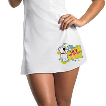 women's costume: family guy sassy brian | large