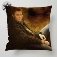 Jensen Ackles Supernatural 2 pillow case, cover ( 1 or 2 Side Print With Size 16, 18, 20, 26, 30, 36 inch )