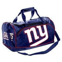 New York Giants Core Logo Extra Small Duffle Bag - Royal Blue