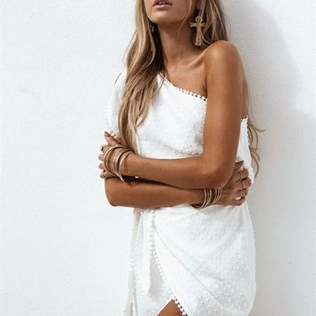 Clio Wrap Dress - Playsuits by Sabo Skirt
