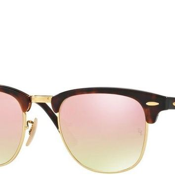 Sunglasses Ray-Ban RB3016 990/7O RED HAVANA/MIRROR COPPER GRADIENT Cal.51