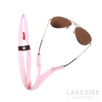Pink Gingham SHADESTRAPS™ | Lakeside Cotton