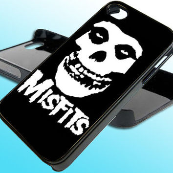 MISFITS Horror Punk Rock for iPhone 4/4s Case - iPhone 5 Case - Samsung S3 - Samsung S4 - Black - White (Option Please)
