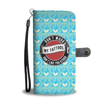 Custom Designed Tattoo Like Wallet Phone Case