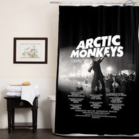 Artic Monkeys Release Album custom shower curtain