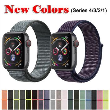 Best Band For Apple Watch Series 3/2/1 38MM 42MM Replacement series 4 40MM 44MM