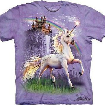 Unicorn Castle Kids T-Shirt