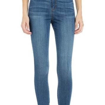 High Rise Curvy Fit Ankle Skinny
