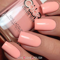 Color Club Hot-Hot-Hot Pants Nail Polish (Poptastic Pastel Neon Collection)