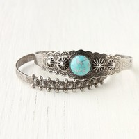 Free People Cuff Stone Double Set