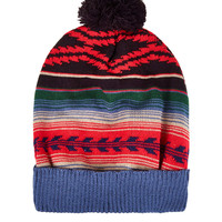 Fairisle Pom Beanie - Hats - Bags & Accessories - Topshop USA