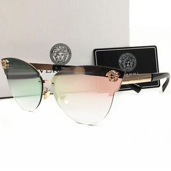 Perfect Versace Women Casual Popular Summer Sun Shades Eyeglasses Glasses Sunglasses