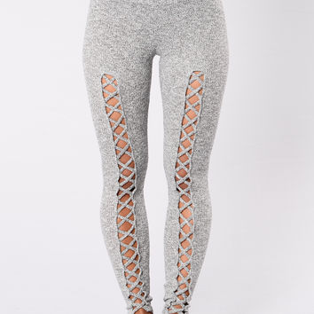 Eruption Leggings - Grey