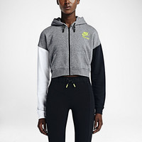 The Nike T/F Cropped Women's Hoodie.
