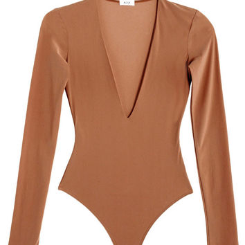 Alix Bodysuit SALE 30% OFF- Sand Irving Bodysuit | BONA DRAG