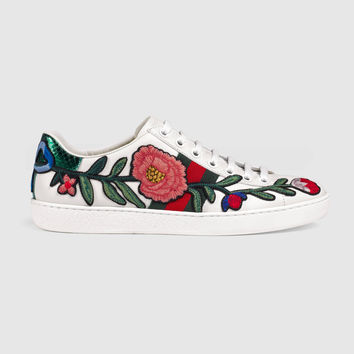 Gucci Ace embroidered low-top sneaker from GUCCI f6009f59ca