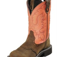 Justin Gypsy Women's Peach Bay Apache Riding Cowgirl Boots