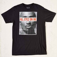 All Eyez On Me Tupac Tee- Black