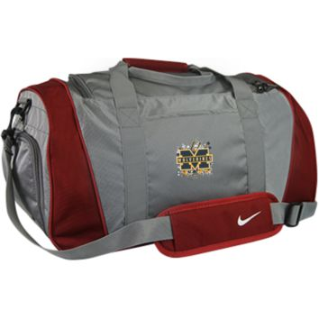 Michigan Wolverines Splatter Logo Nike Medium Duffel