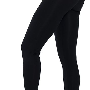 Ylluo Leggings High Waist Pants Buttery Soft Fleece and Non Fleece Tights Regular and Plus Size