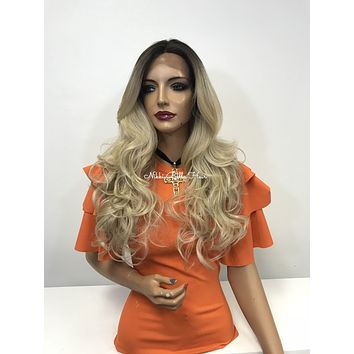 Blonde ombre lace front wig - New Yorker