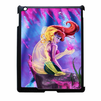 Ariel Little Mermaid With Eric Shadow iPad 4 Case