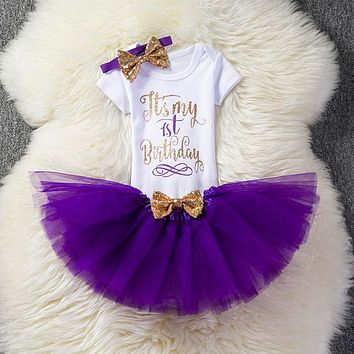 Newborn baby dresses Bow dress for Birthday party costume Wedding bridal Infant outfits Events Occasion Toddler for Ceremony